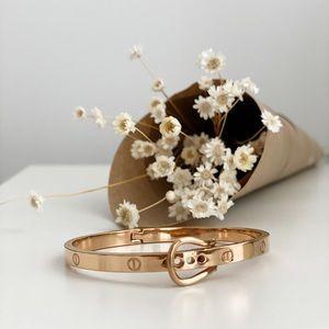 Rose Gold plated Bangle Bracelet
